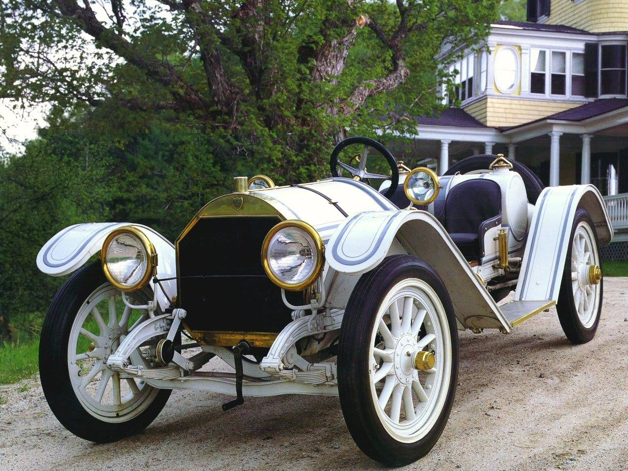 1911 mercer type 35 raceabout white