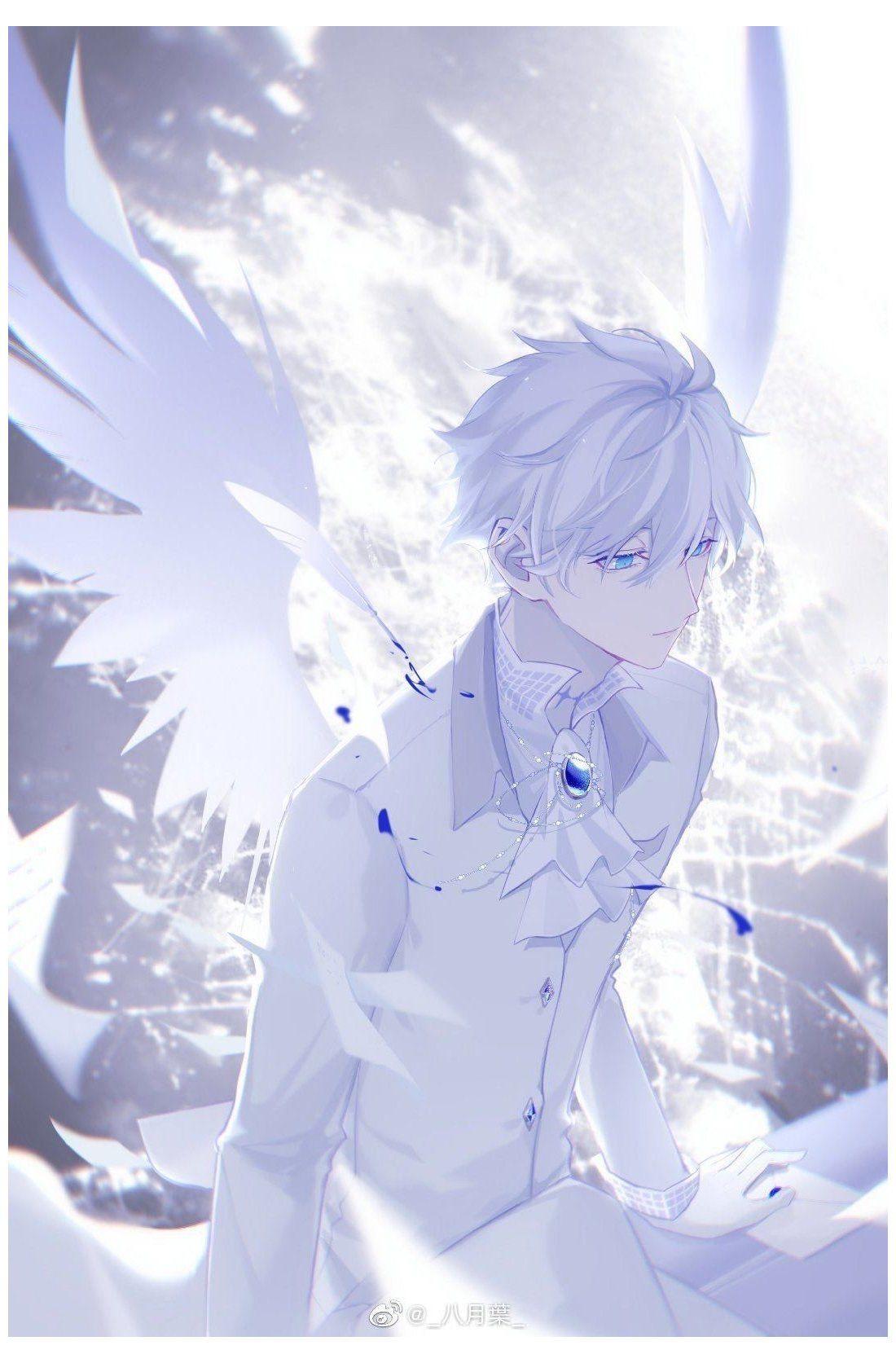 Angel Anime Boy Anime Drawings Boy Anime Anime Fantasy