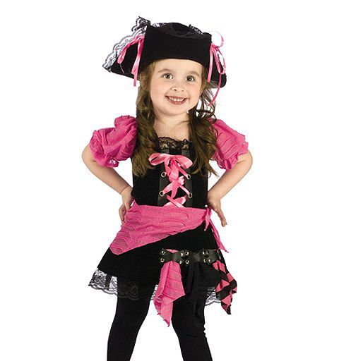 Pink Punk Pirate Toddler Costume Infant/Toddler Pirate Halloween - toddler girl halloween costume ideas