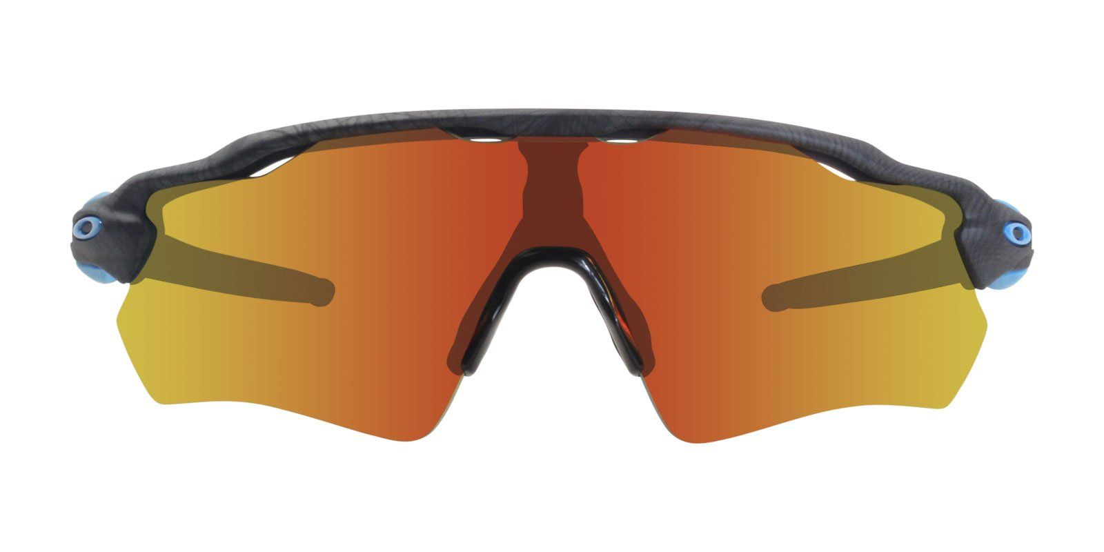 8a957e54097 Oakley Radar Ev Path Gray   Red Lens Mirror Sunglasses