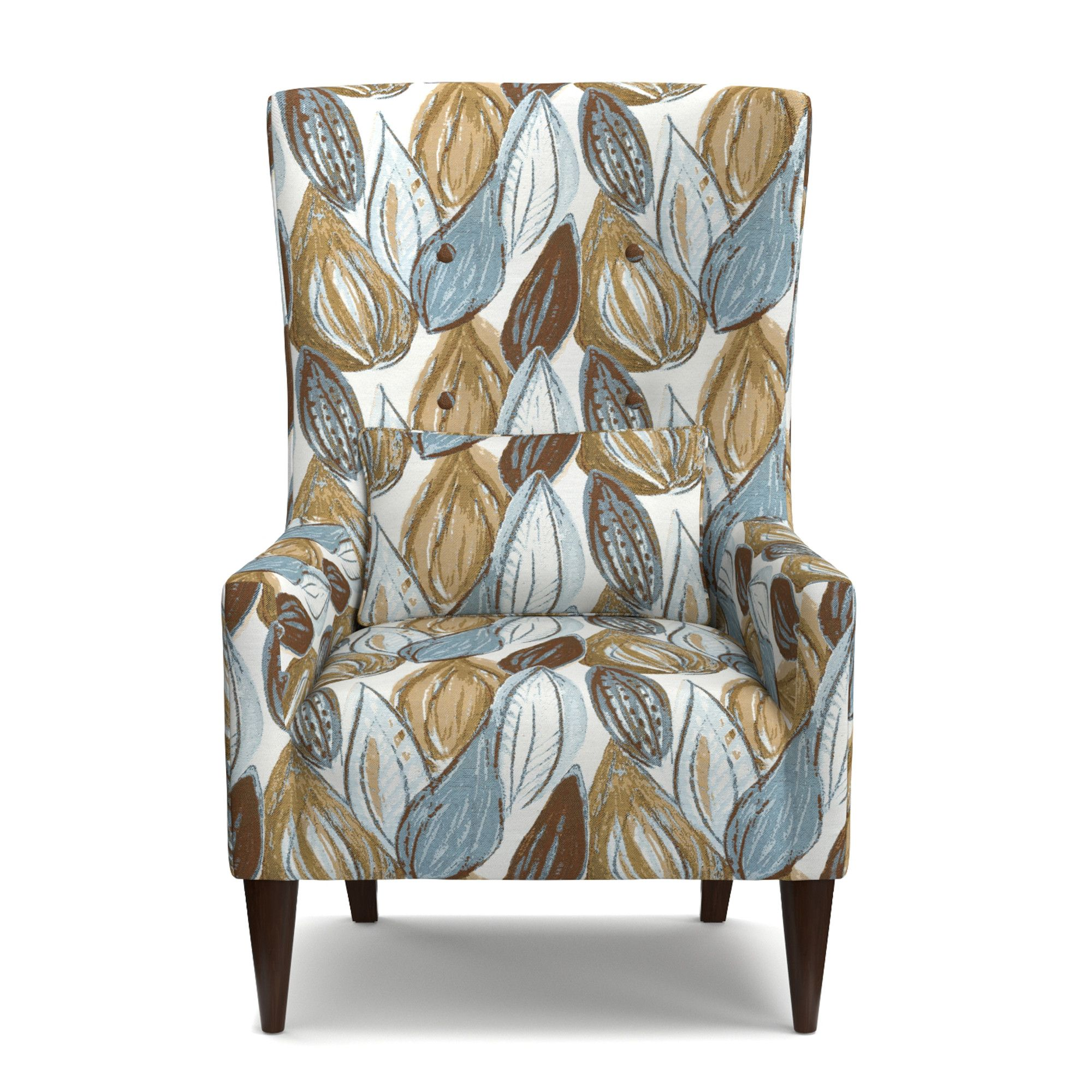 Lesley Shelter High Back Wing Chair Upholstery