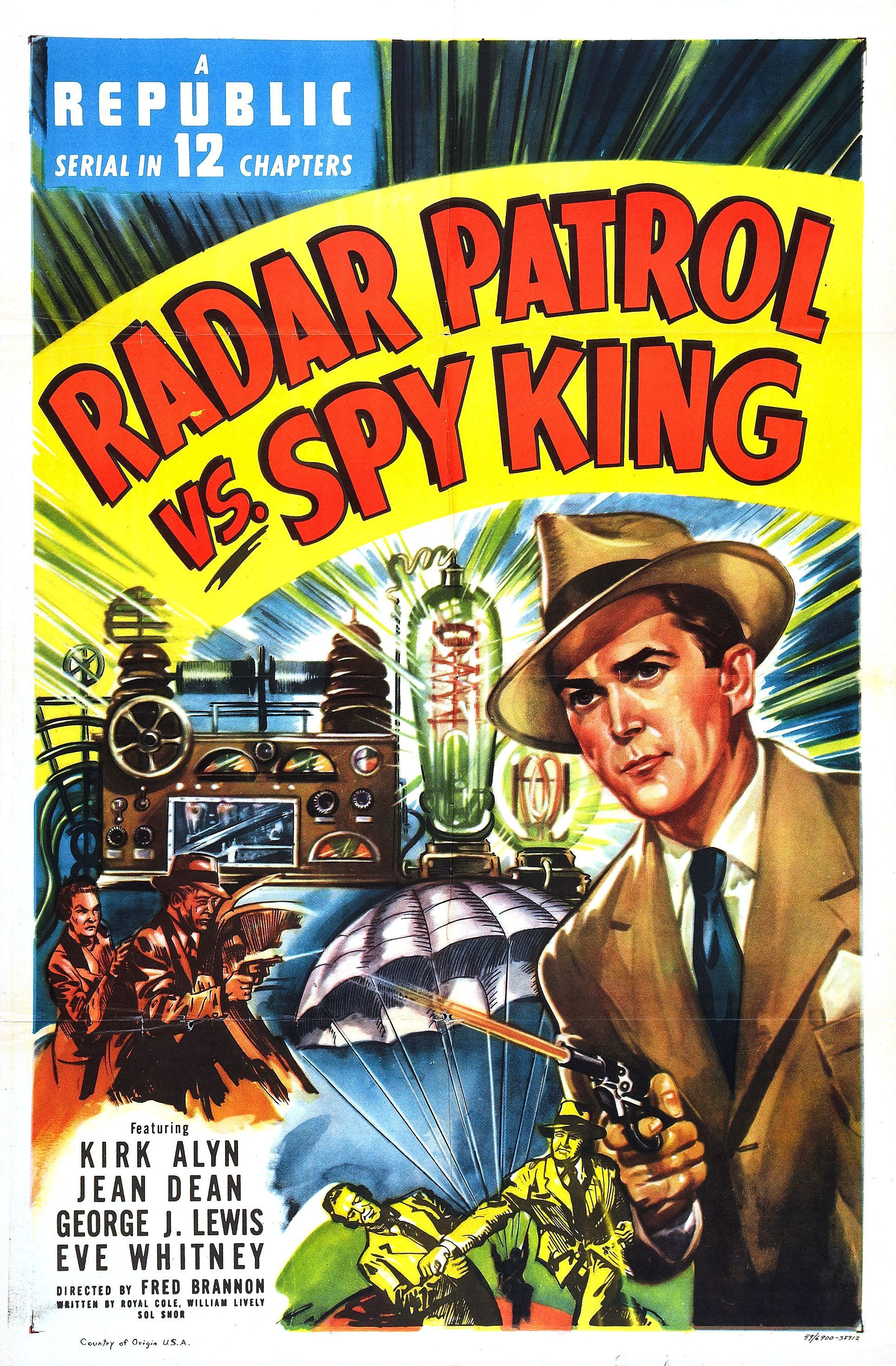 Watch Radar Patrol vs. Spy King Full-Movie Streaming