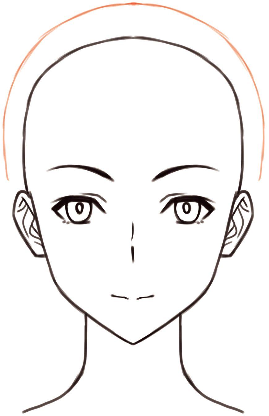 顔の描き方顔のパーツのバランスの取り方鼻の形を知ろう