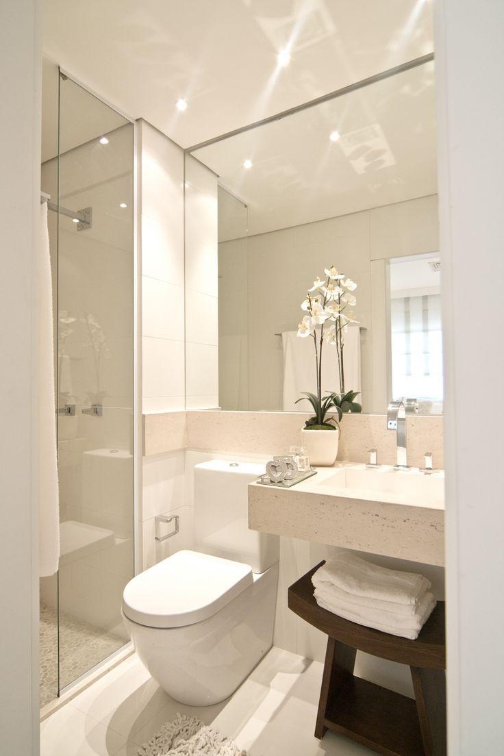 Gäste Wc Schöner Wohnen banheiro simples e pequeno com bancada de pedra home
