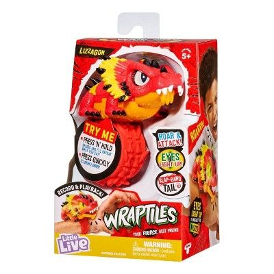 Little Live Wraptiles Lizzagon Baby Girl Toys Little Live