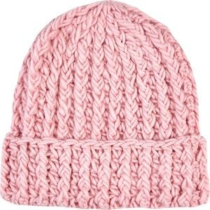 3d18b07aed8 River Island Light pink chunky knit beanie hat