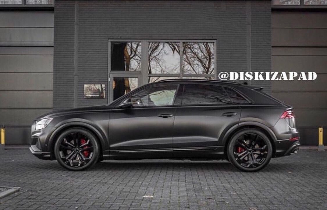 Audi Q8 Matte Black Customized Audi Q8 Ideas Audi Super Cars Cars