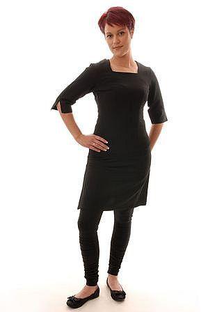 Angel tunic beauty therapist uniform tunica per for Spa uniform fashion