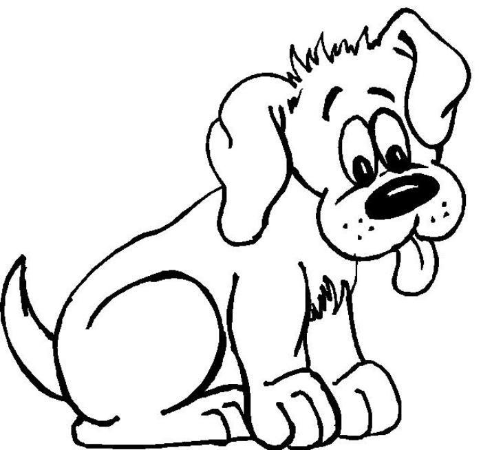 Resultado De Imagen Para Imagenes De Perros Animados Para Colorear