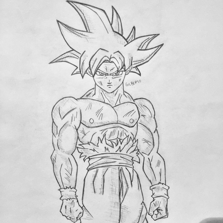 Doctrina Egoísta Epic Characters Goku Bocetos Y Dibujos