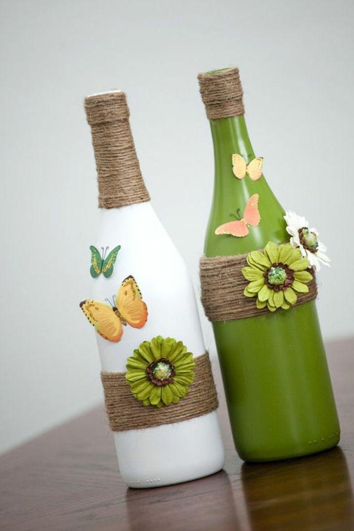▷ 1001 + ideas de manualidades con botellas de vidrio y plástico