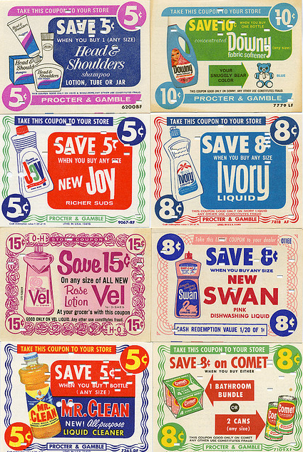 coupons from 1960