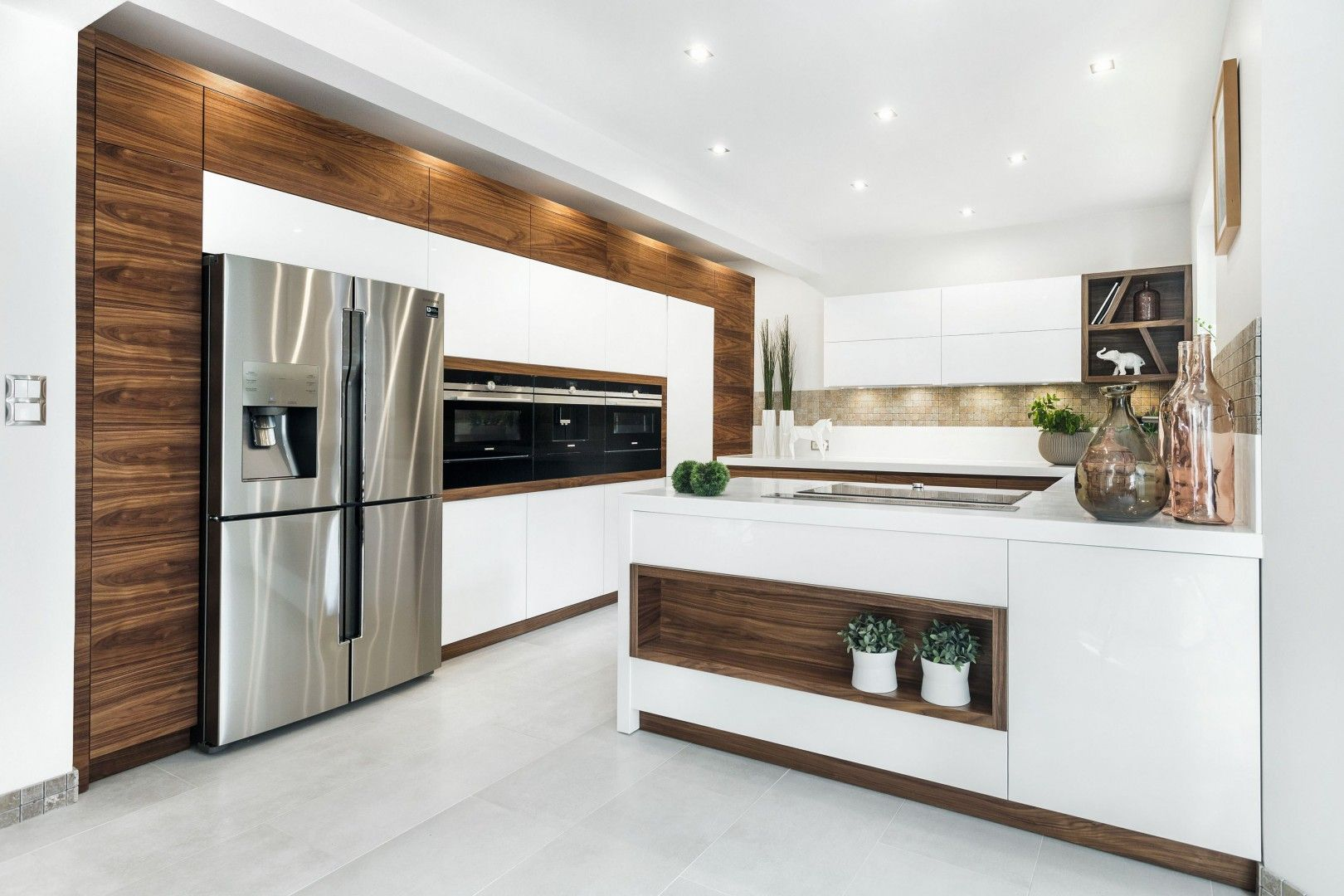 Trendy 2018 Drewno W Kuchni Projekt Vigo Fot Artur Krupa Kitchen Window Design European Kitchen Design Modern Kitchen Design