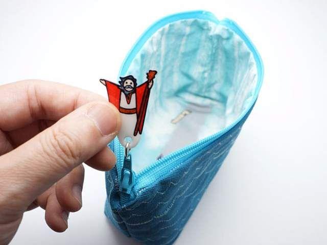 超創意設計《聖經故事化妝包》投票數夠多才可能商品化的夢幻小物