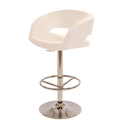 Mistral White Adjustable Stool Adjustable stool, Stool