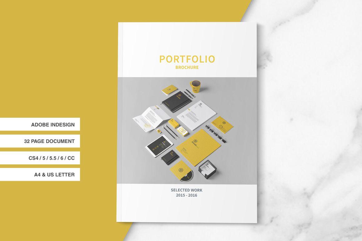 Indesign Portfolio Brochure by tujuhbenua on @creativemarket ...