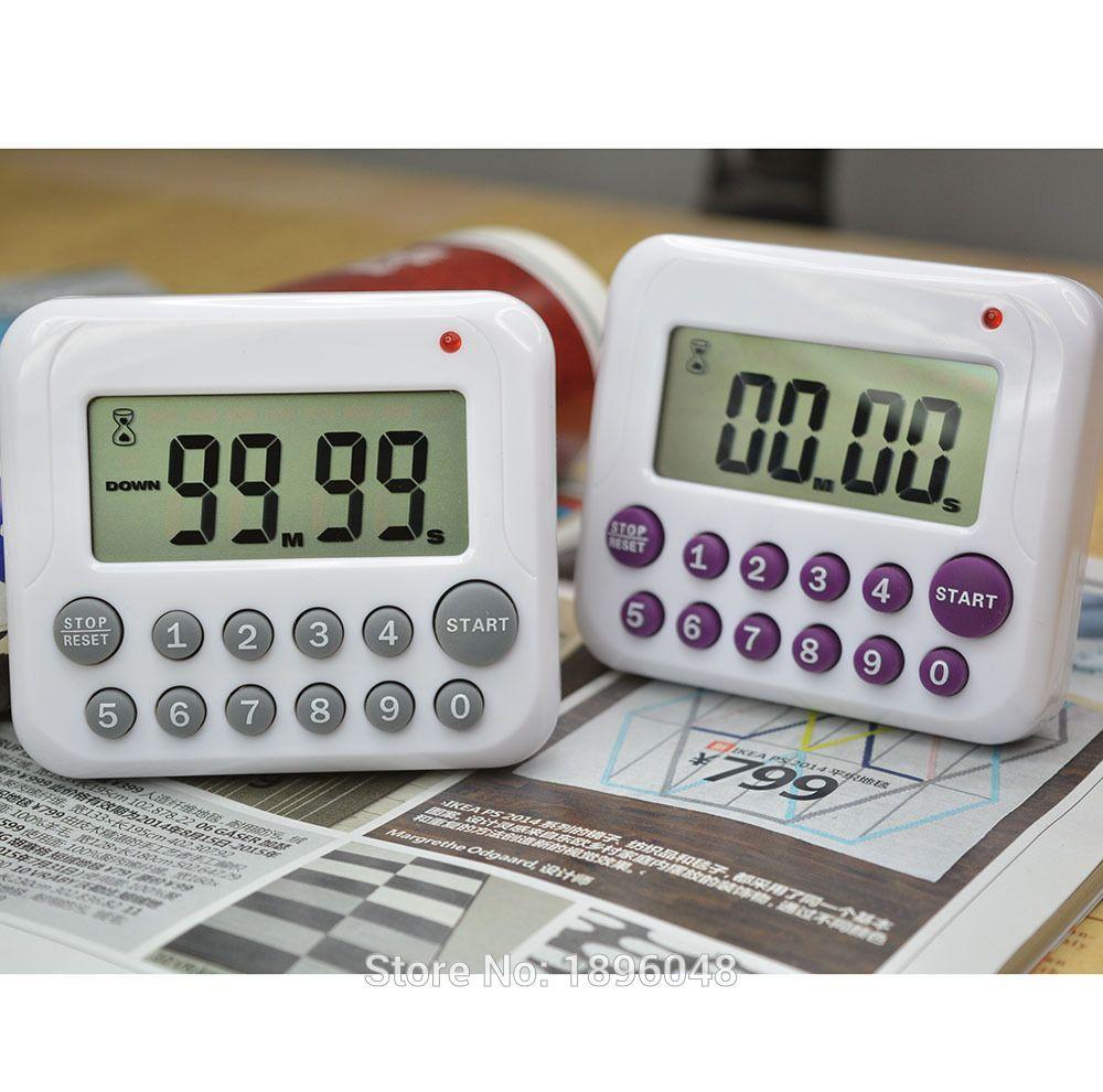 10 Key Auto Power off/ Countdown Timer/Reminder Kitchen Digital ...