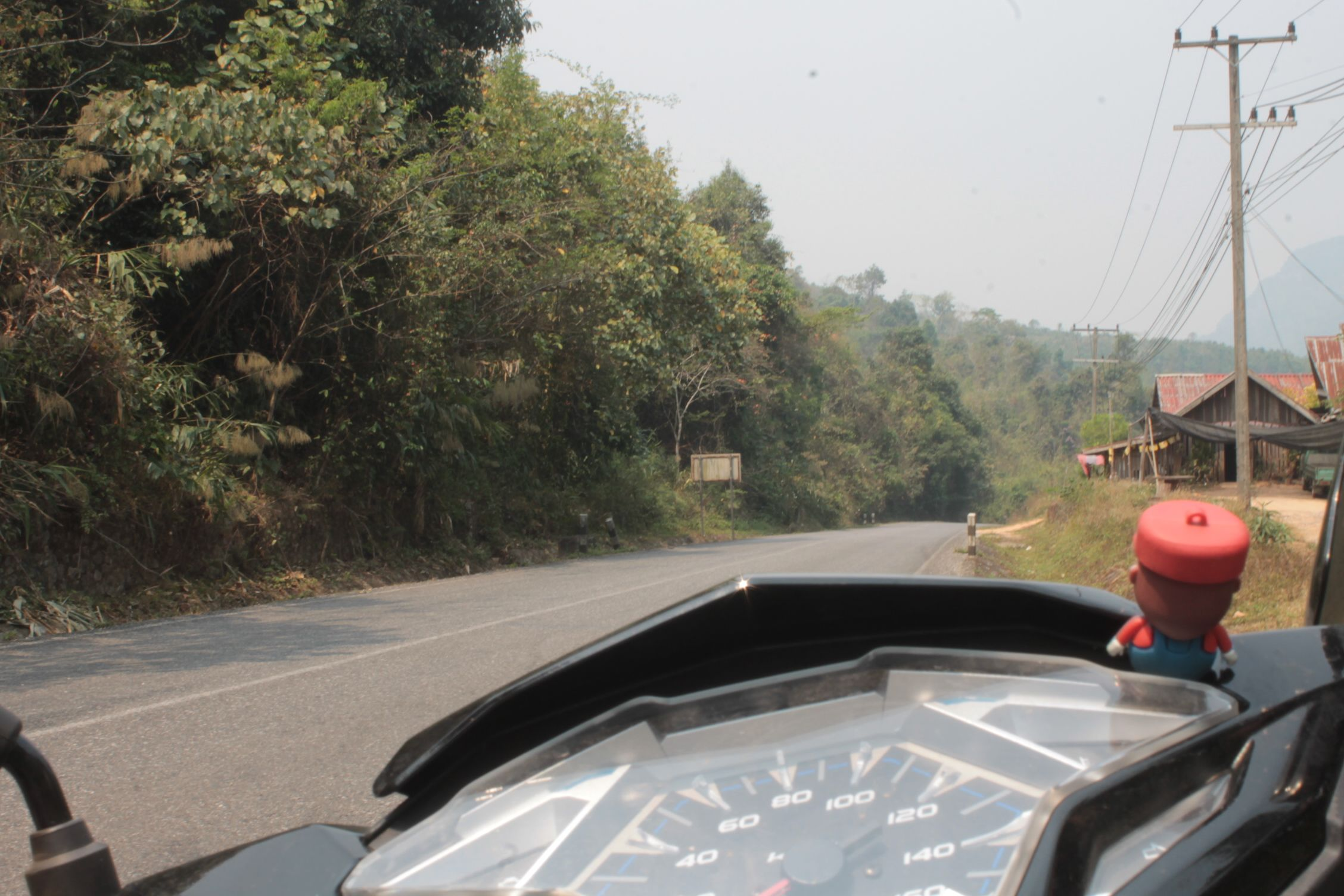 En el loop en moto por Takhek