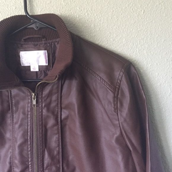 Faux Leather Jacket From Target Faux Leather Jackets Leather