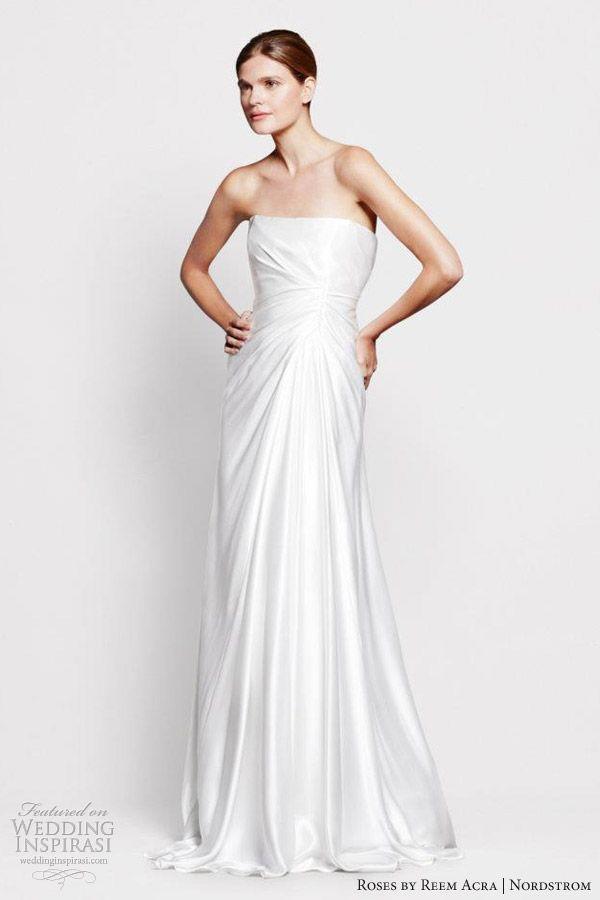 Roses by Reem Acra for Nordstrom Wedding Dresses | Reem acra ...