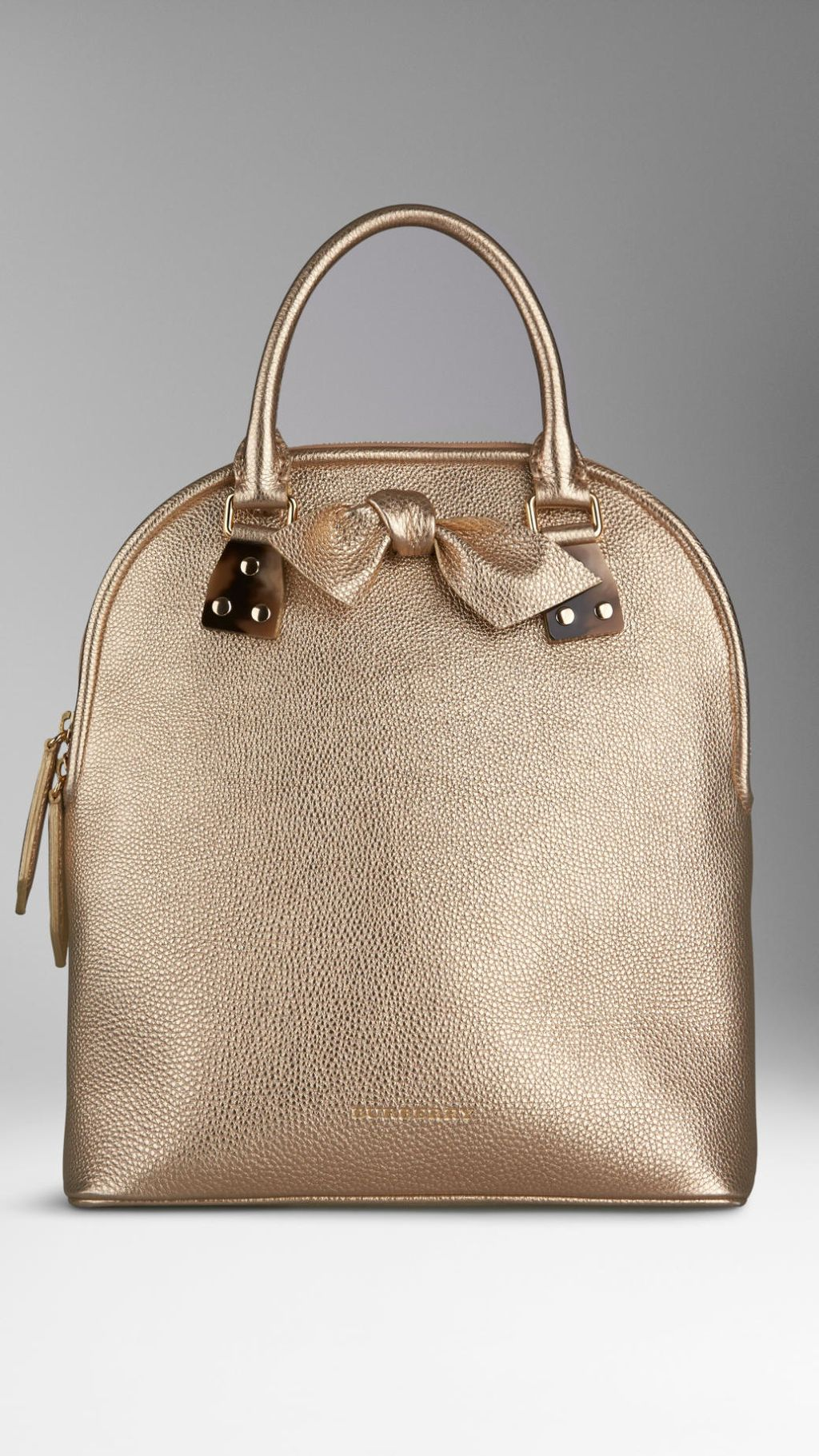 c0235a75bd03 Burberry - Gold The Medium Bloomsbury in Grainy Leather