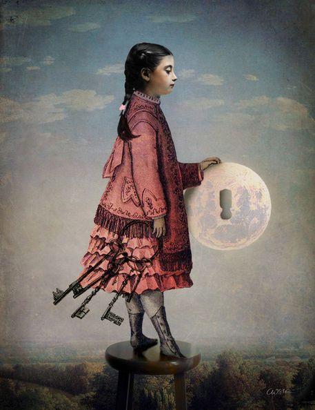 'Surrender the Sky' von Catrin Welz-Stein bei artflakes.com als Poster oder Kunstdruck $34.65