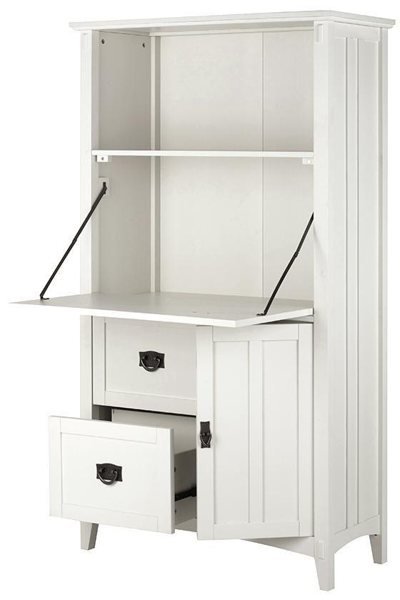 Artisan Tall Secretary Desk Desk In Living Room Secretary Desks Guest Room Office