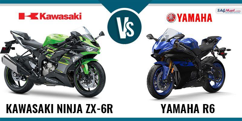 Comparison Between Kawasaki Ninja Zx 6r Vs Yamaha R6 Kawasaki