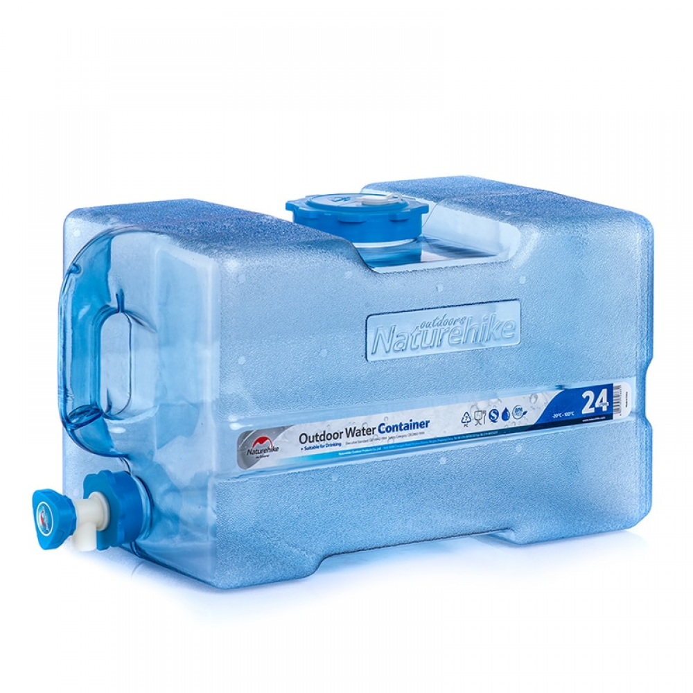 Large Capacity Food Grade Pc Water Container With Faucet Water