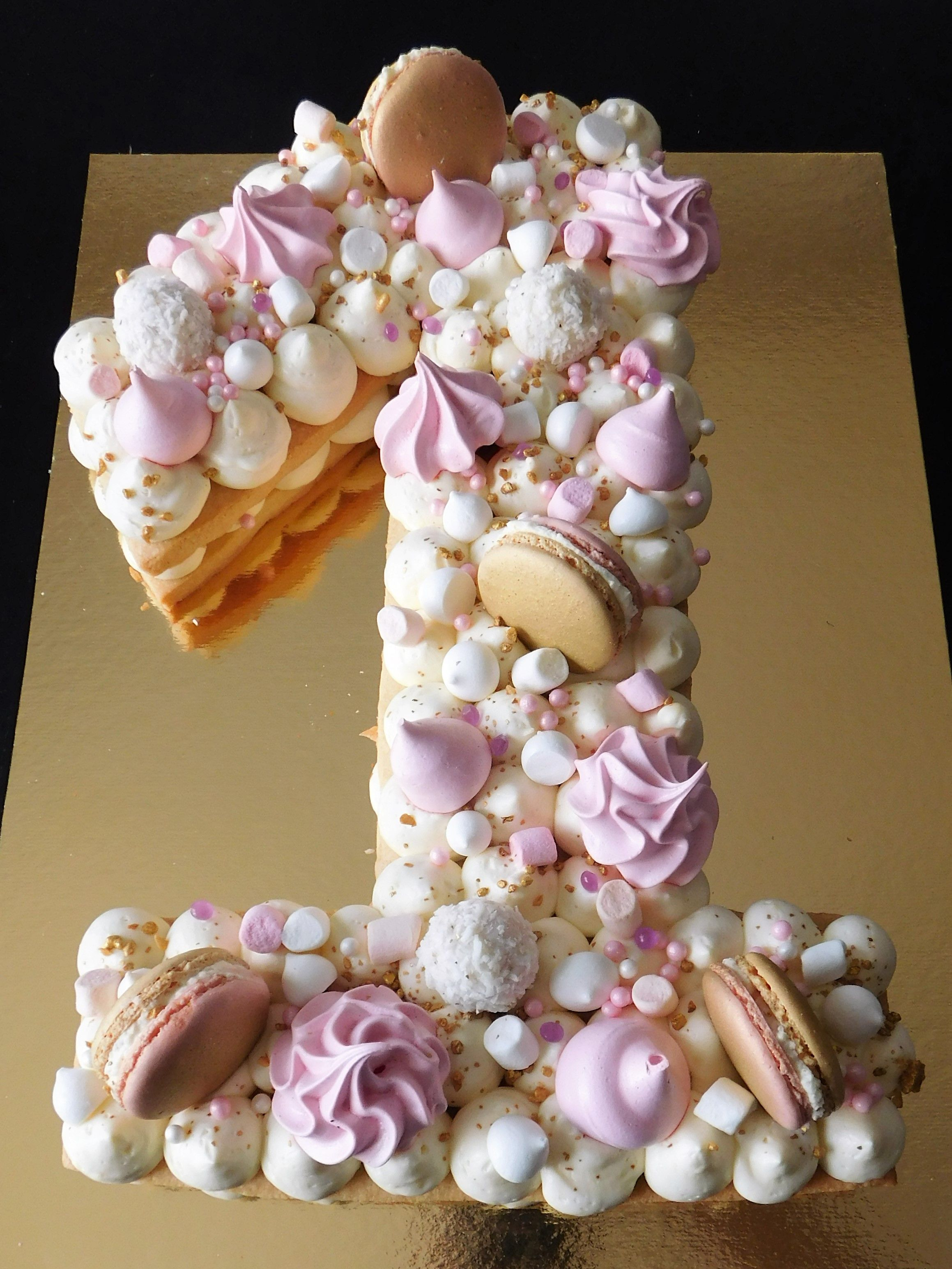 Little Princess Number Cake Gateaux Aux Numeros Faire Un Gateau D Anniversaire Recette Gateau Anniversaire