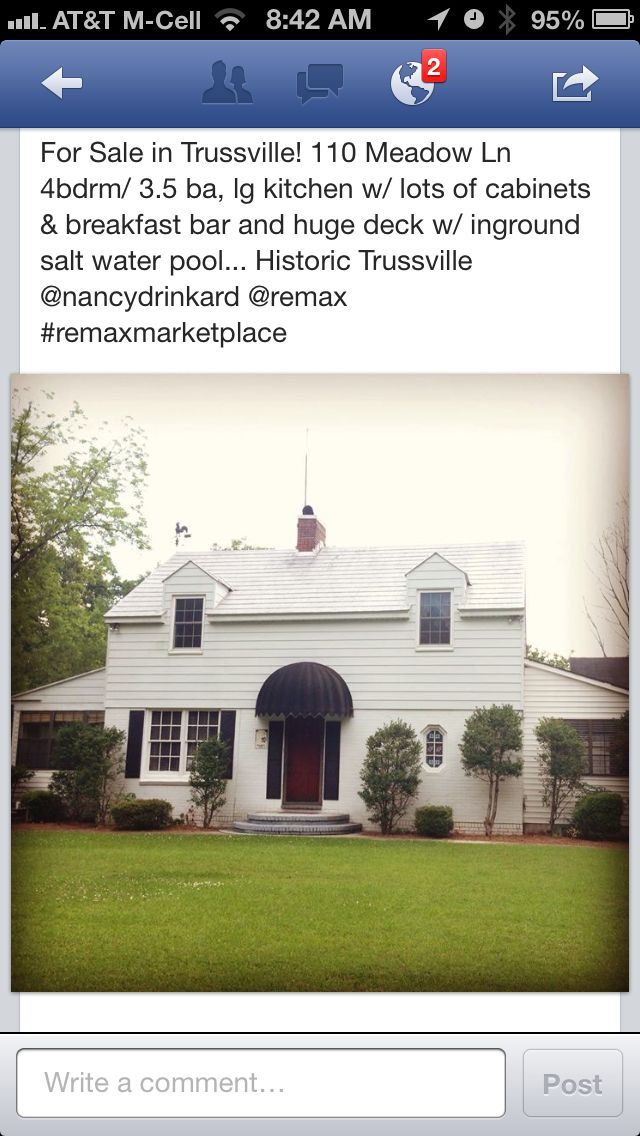 Historic Trussville Home For Sale W Salt Water Pool Remax