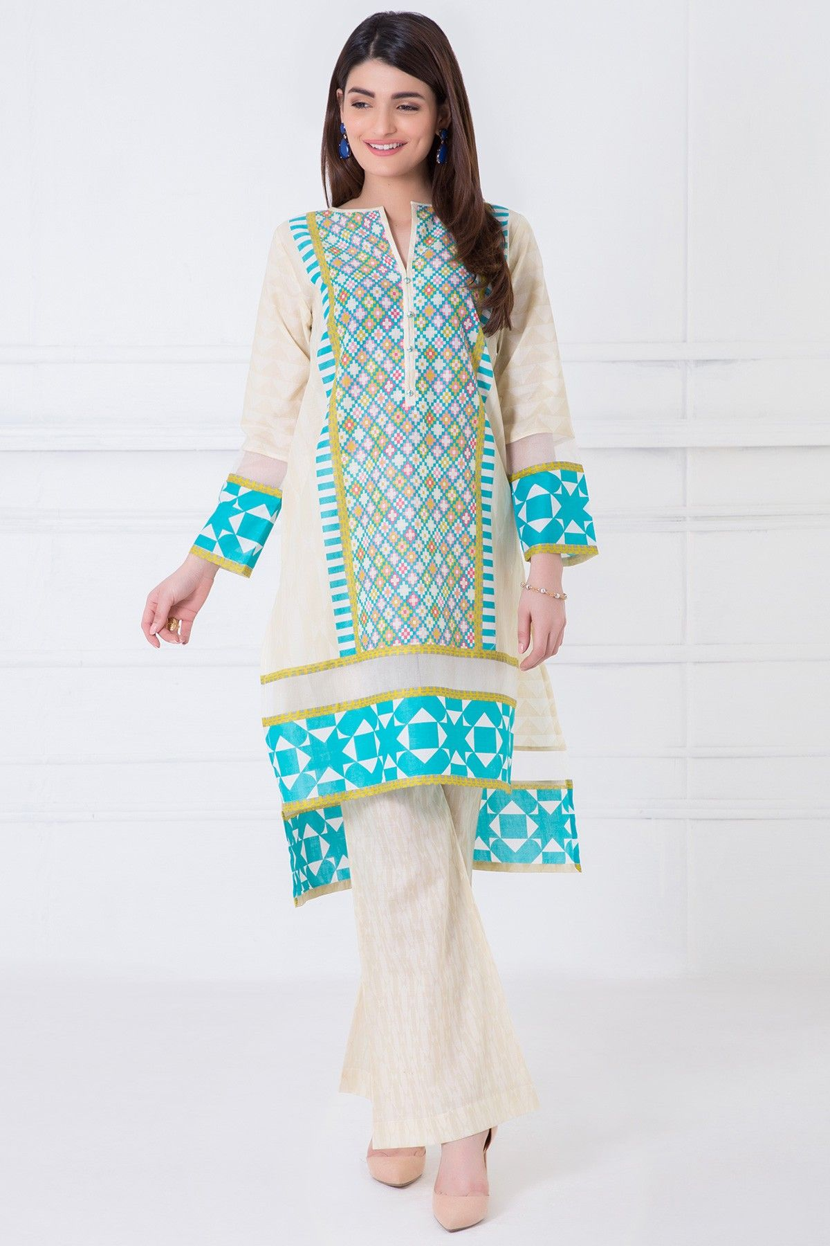 0187d199b6 Eid Collection 2017, Spring Collection, Winter Shirts, Eastern Dresses,  Salwar Suits,