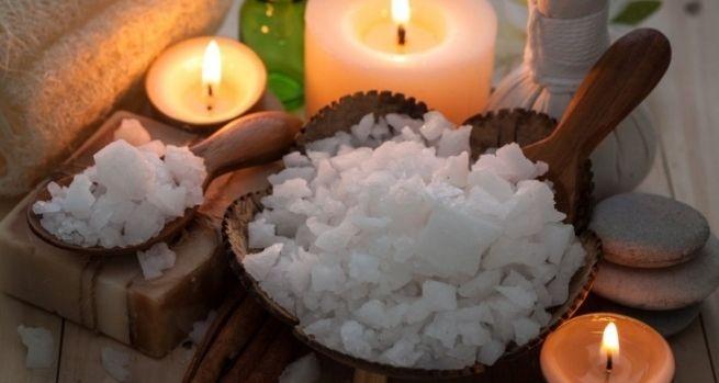 Aprende a preparar sales de ba o para relajar cuerpo y mente hazlo tu mismo pinterest spa - Relajar cuerpo y mente ...