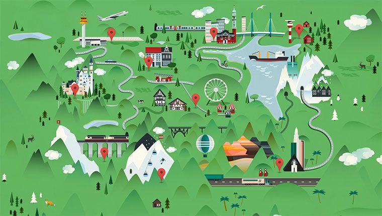 Mit Google Street View Durchs Miniatur Wunderland Mini Google Maps Webdesign Inspiration Wunderland Miniatur