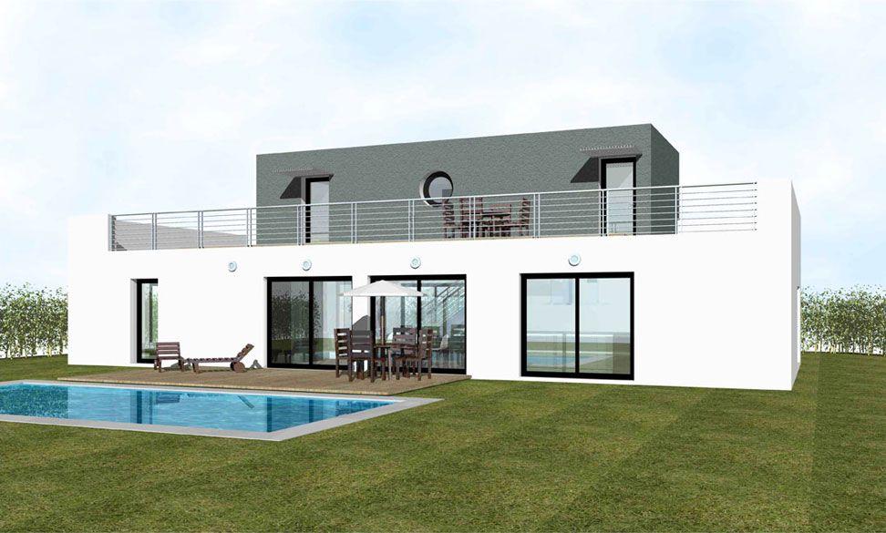constructeur maison contemporaine prix maison moderne. Black Bedroom Furniture Sets. Home Design Ideas