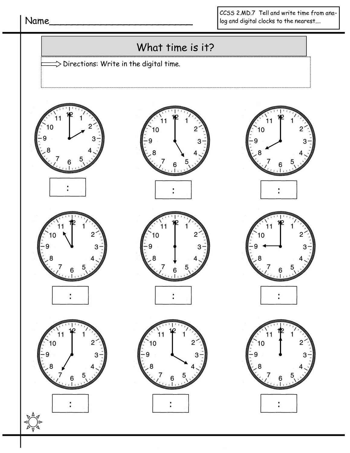 medium resolution of Time Elapsed Worksheets to Print   Time worksheets