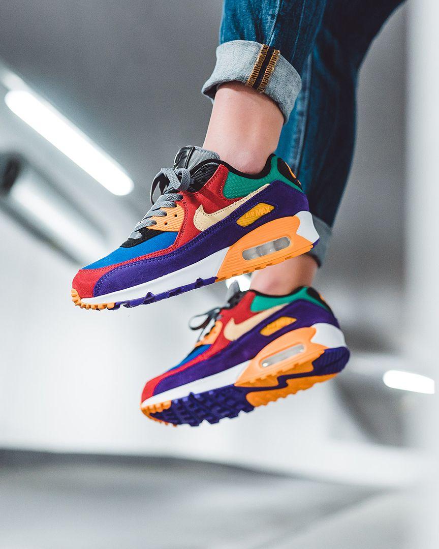 Nike Air Max 90 QS Viotech in bunt CD0917 600 in 2020