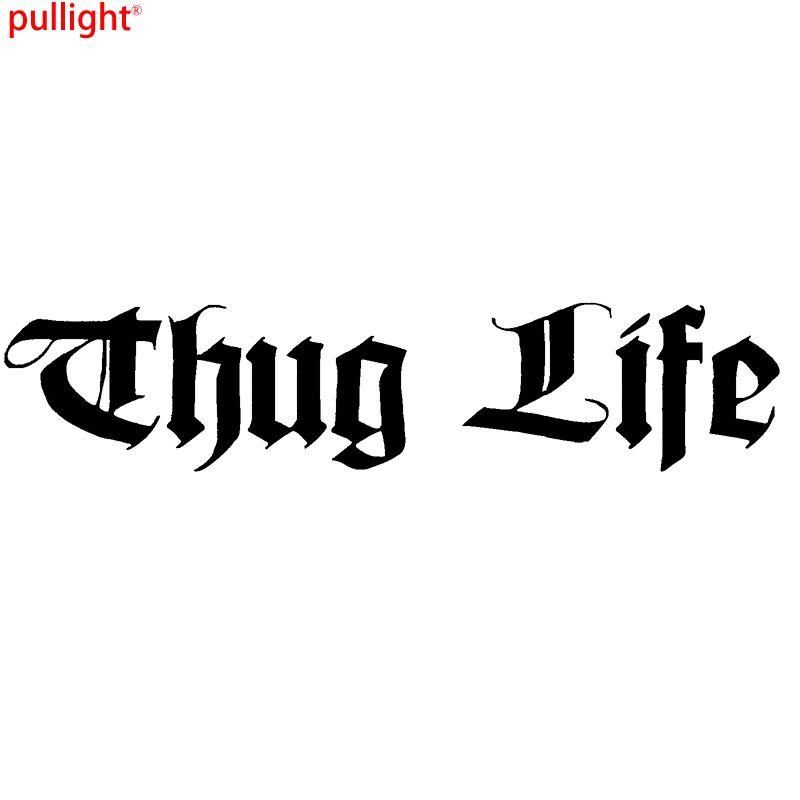 Thug Life Funny Car Window Bumper Jdm Vinyl Decal Sticker Colour Choice Shop The Nation Thug Life Thug Life Funny Thug Life Tattoo