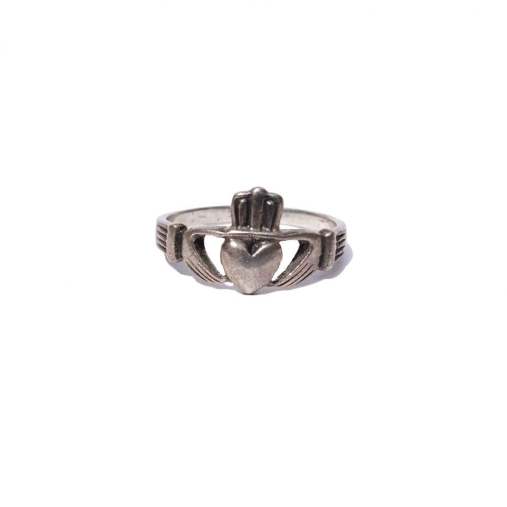 ビンテージ クラダーリング【vintage Claddagh Ring】| 代官山【ラムホール ベルーフ】原宿【beruf原宿】が公式に取り扱う通販サイト - RUMHOLE beruf - Online Store