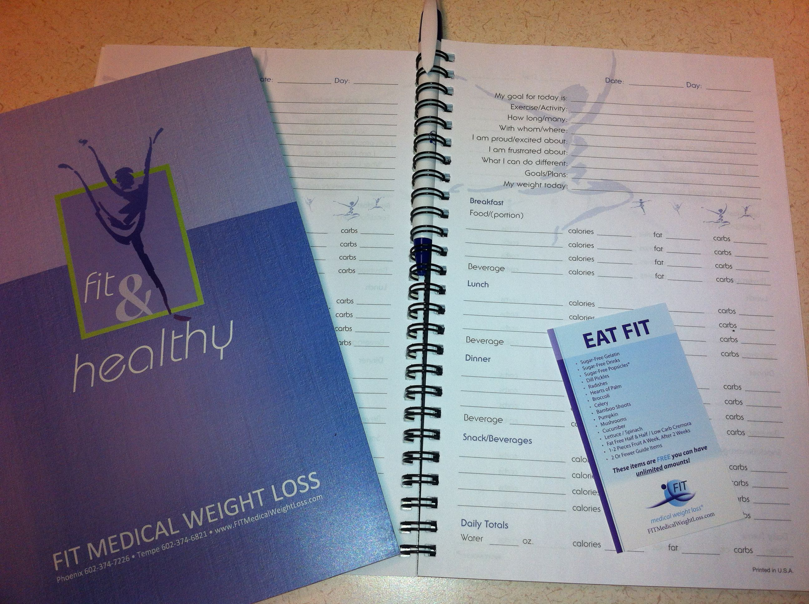 using a food journal on a weight loss program fit bits pinterest