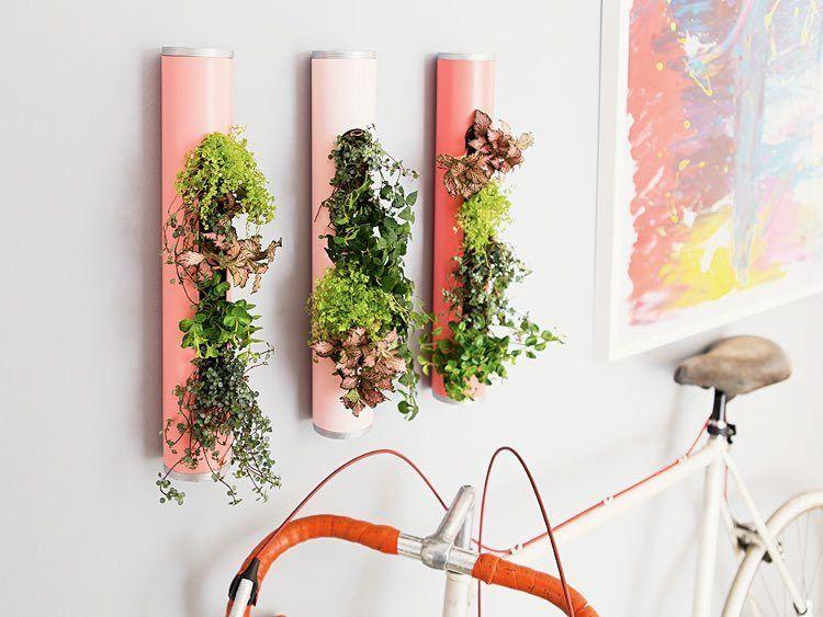 Tutoriales DIY Cómo hacer jardineras verticales vía DaWanda - como hacer una jardinera