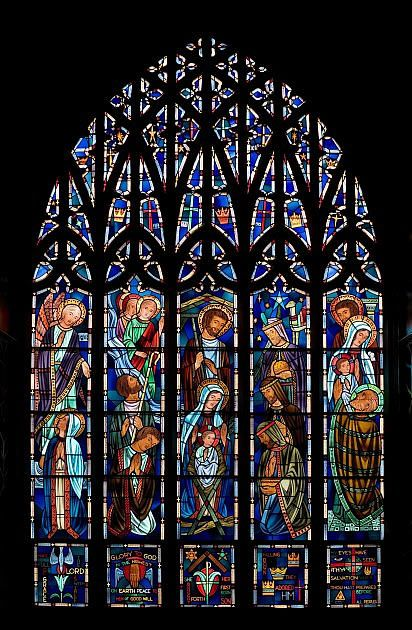 New Stained Glass Windows Holy Family Catholic Church St Louis Park MN