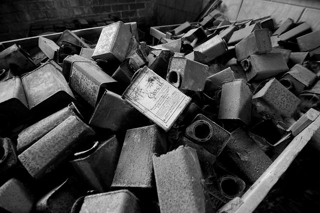 Old Oil Factory in Mons (Belgium) B&W 02 | Flickr: partage de photos!