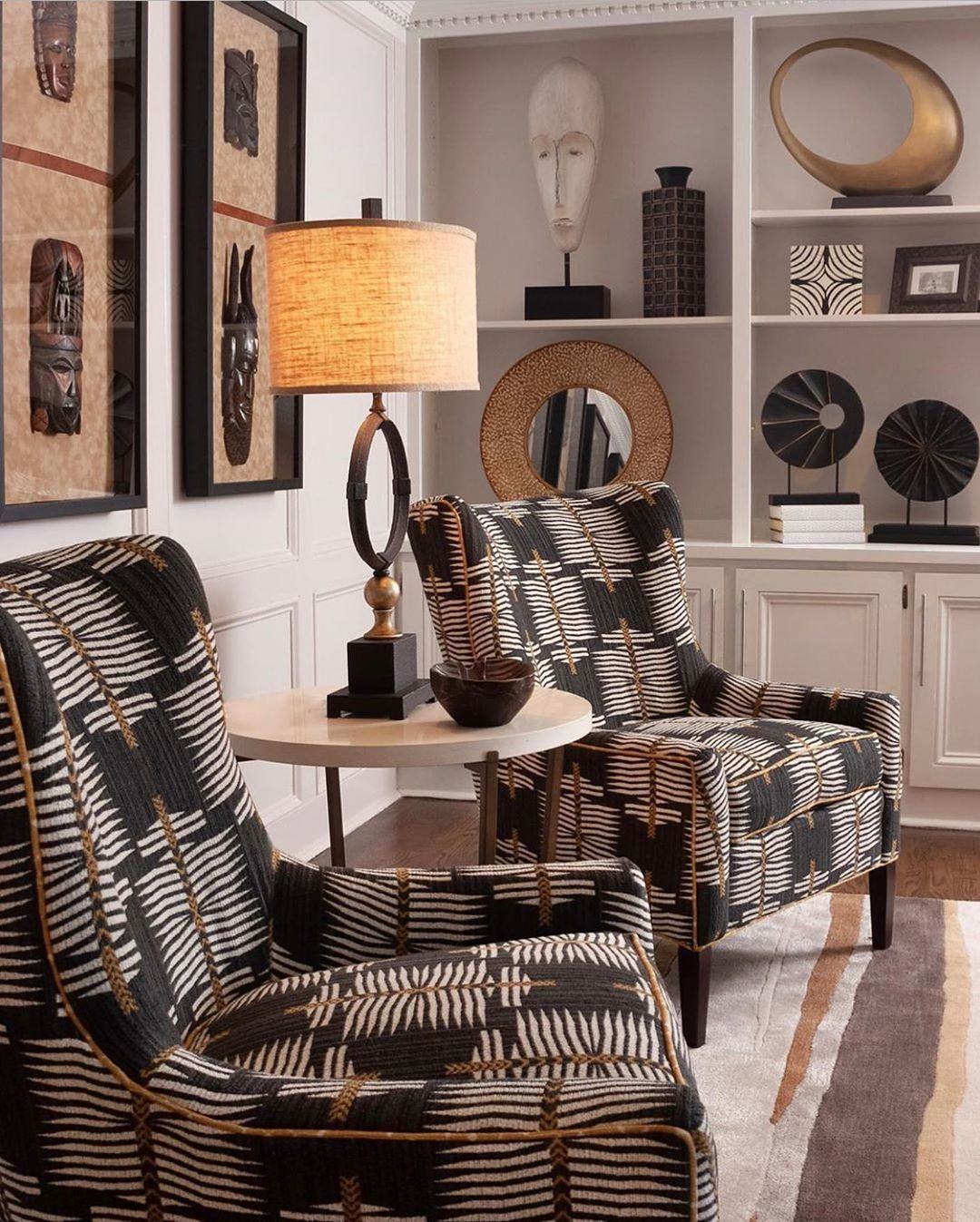 Pin On Home Style African decor dining room