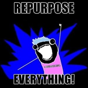 Repurpose everything! Repurpose Content to Reach a Wider Audience