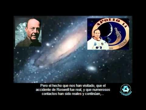 UFO / OVNI: Astronaut Edgar Mitchell disclose Aliens Exist (Subtitulos ESPAÑOL) - YouTube