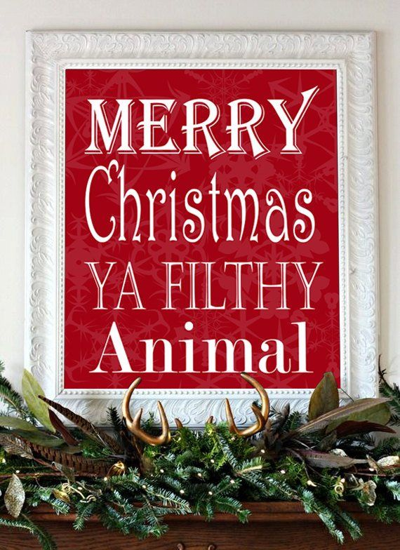 Merry Christmas   Ya Filthy Animal   Home Alone   Home Alone Quote   Movie  Quote