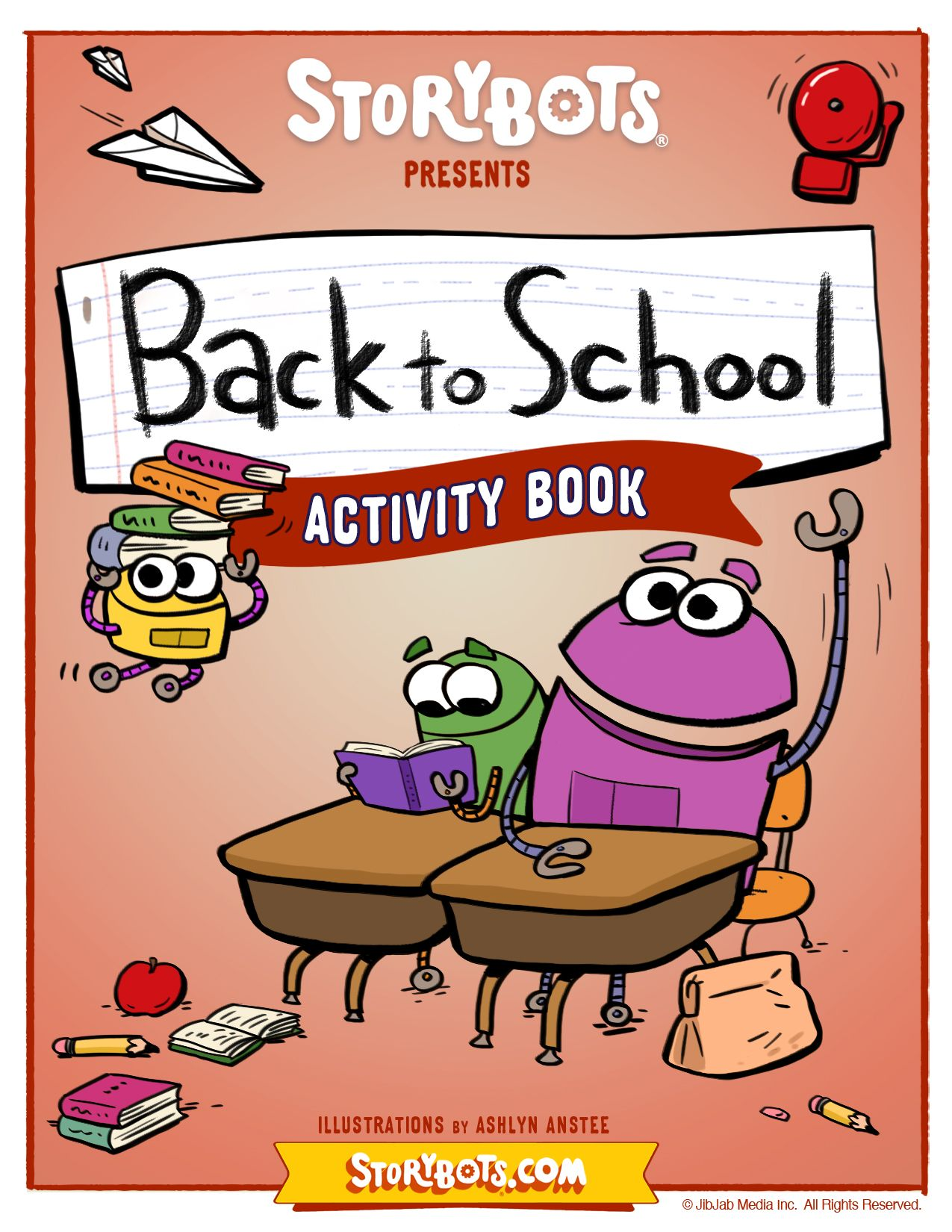 Back To School Activity Sheet Cover