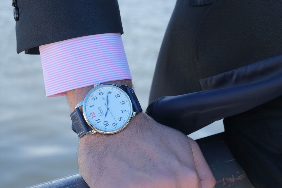 Amazing new watch Montreal watch company!!! Vintage inspired, quality time pieces! Cloutier Nouvelle-France Watches!