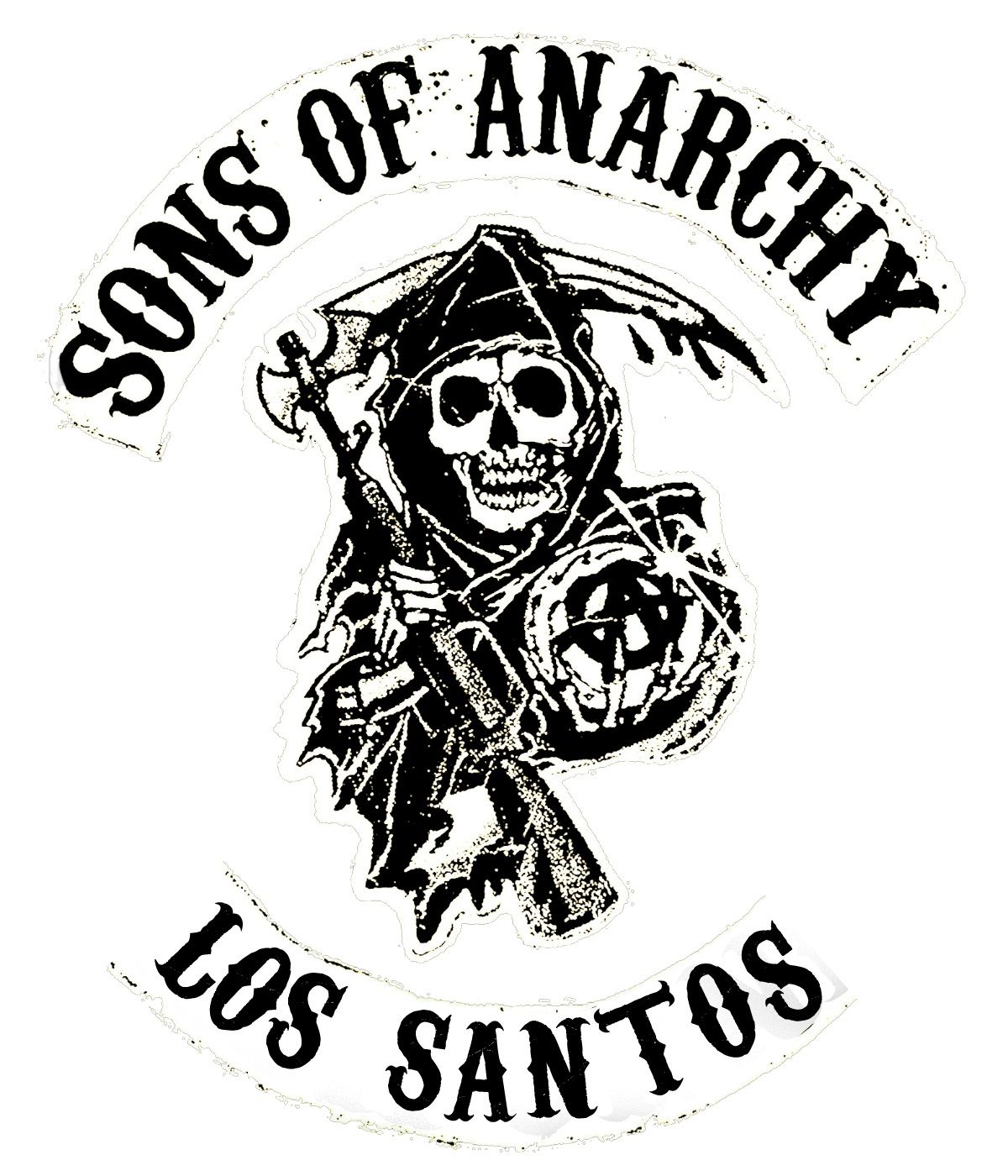 Soa Reaper Logos And States Sons Of Anarchy Reaper Logo Skull